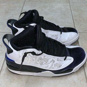"""Nike Air Jordan Dub Zero """"Concord"""" Sneakers 9.5"""